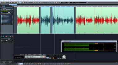 Audiobearbeitung mit Samplitude Pro X4