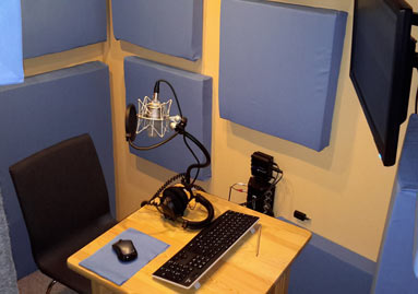 Studio - Sprecherkabine