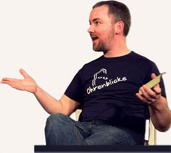 Jens Wenzel Sprecher mit Studio