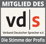 Mitglied des Verbands Deutscher Sprecher e.V. - Die Stimme der Profis